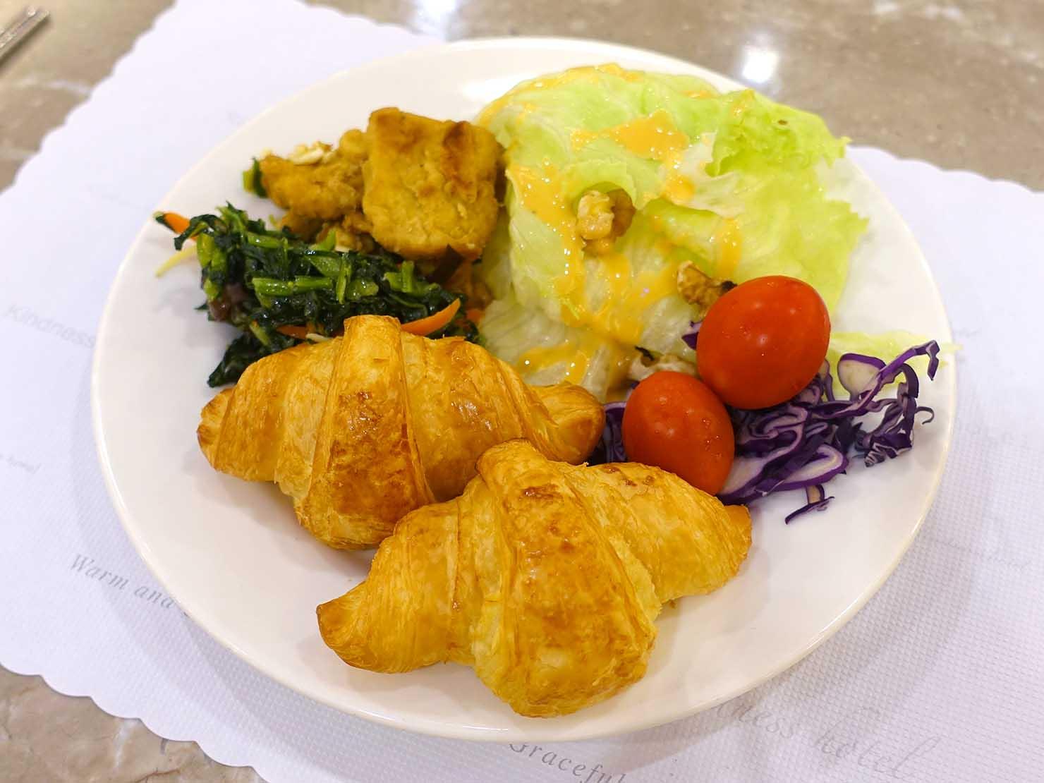 高雄のおすすめチェーンホテル「康橋商旅 Kindness Hotel(漢神館)」朝食ビュッフェ