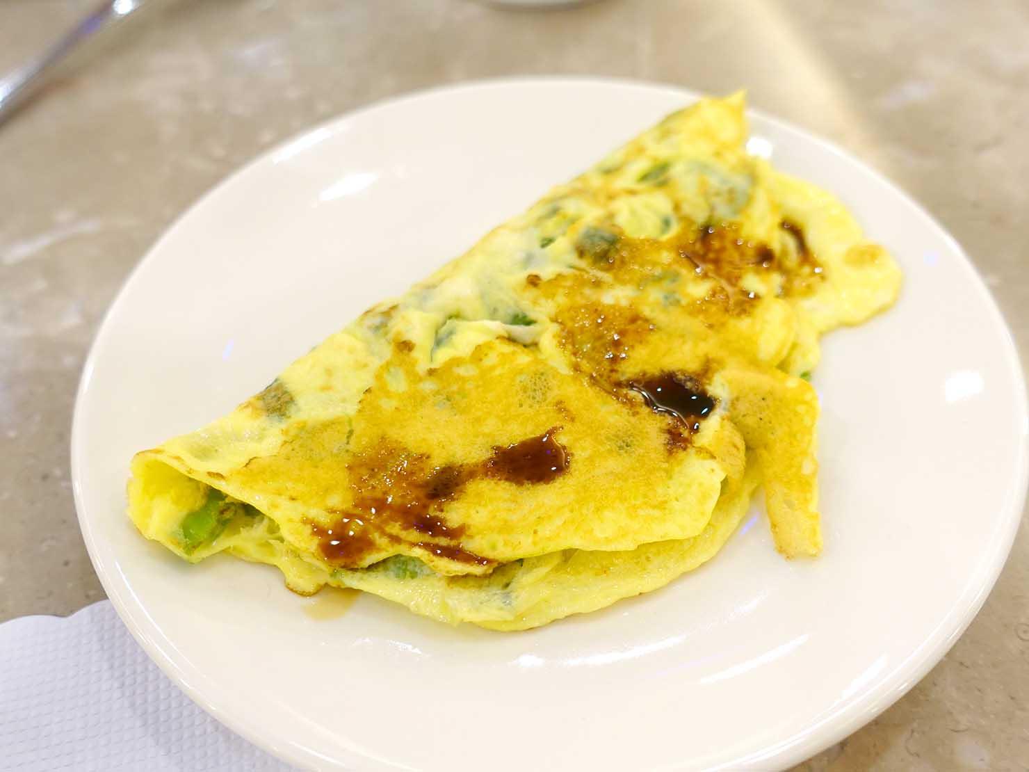 高雄のおすすめチェーンホテル「康橋商旅 Kindness Hotel(漢神館)」朝食ビュッフェのたまご料理