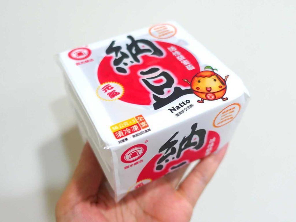 台湾のスーパーで手に入る食品「納豆」