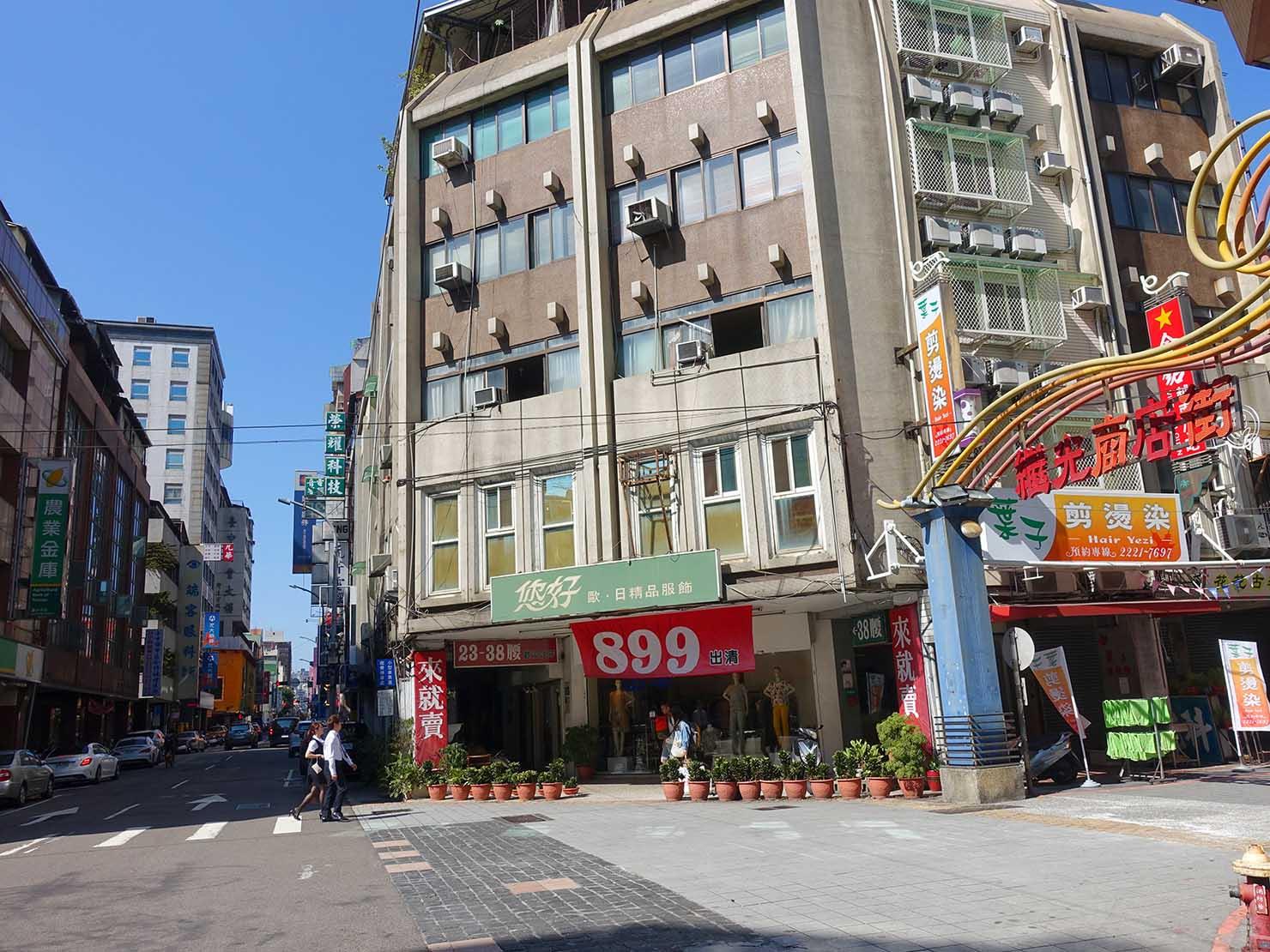 台中・繼光商店街前