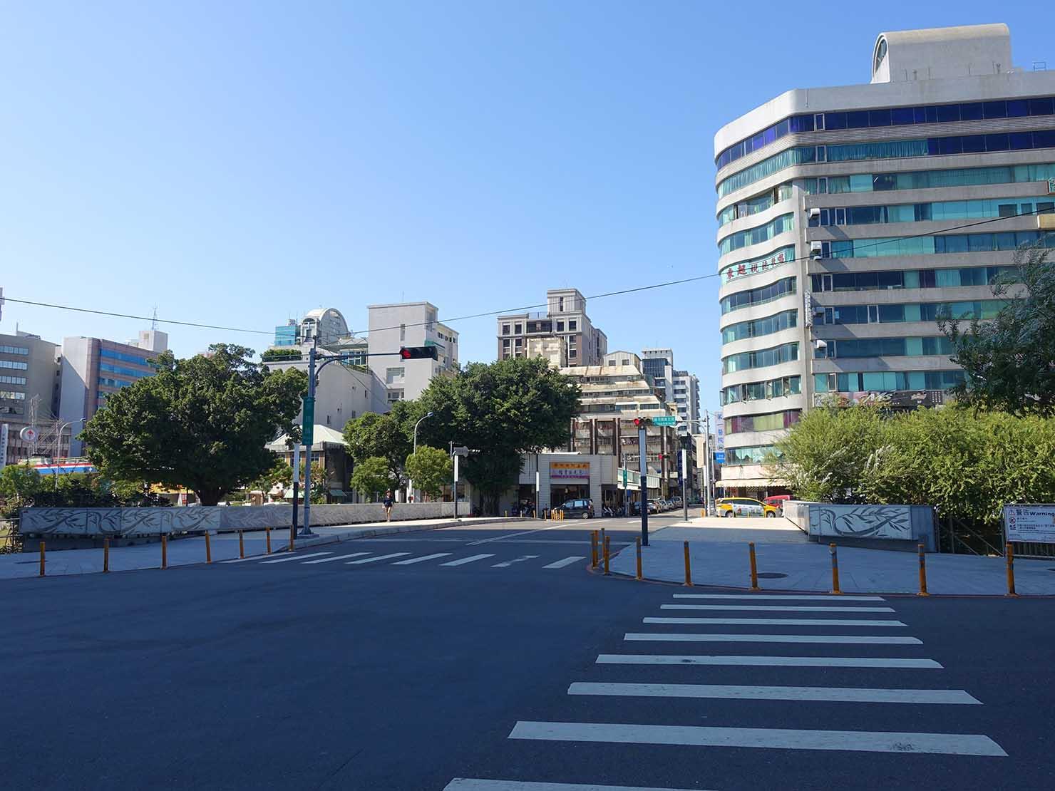 台中・柳川民族路口