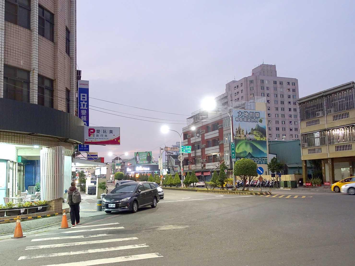 台鐵嘉義駅前中興路