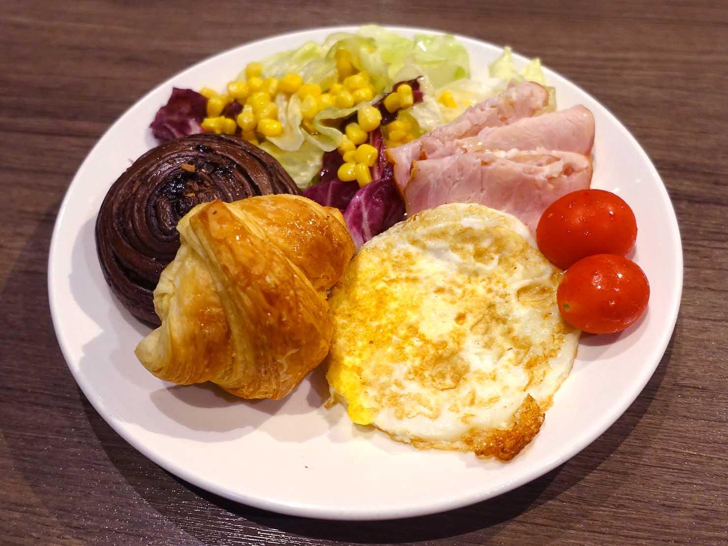 嘉義のおすすめホテル「嘉義觀止」B1F觀止餐廳でいただく朝食ビュッフェ
