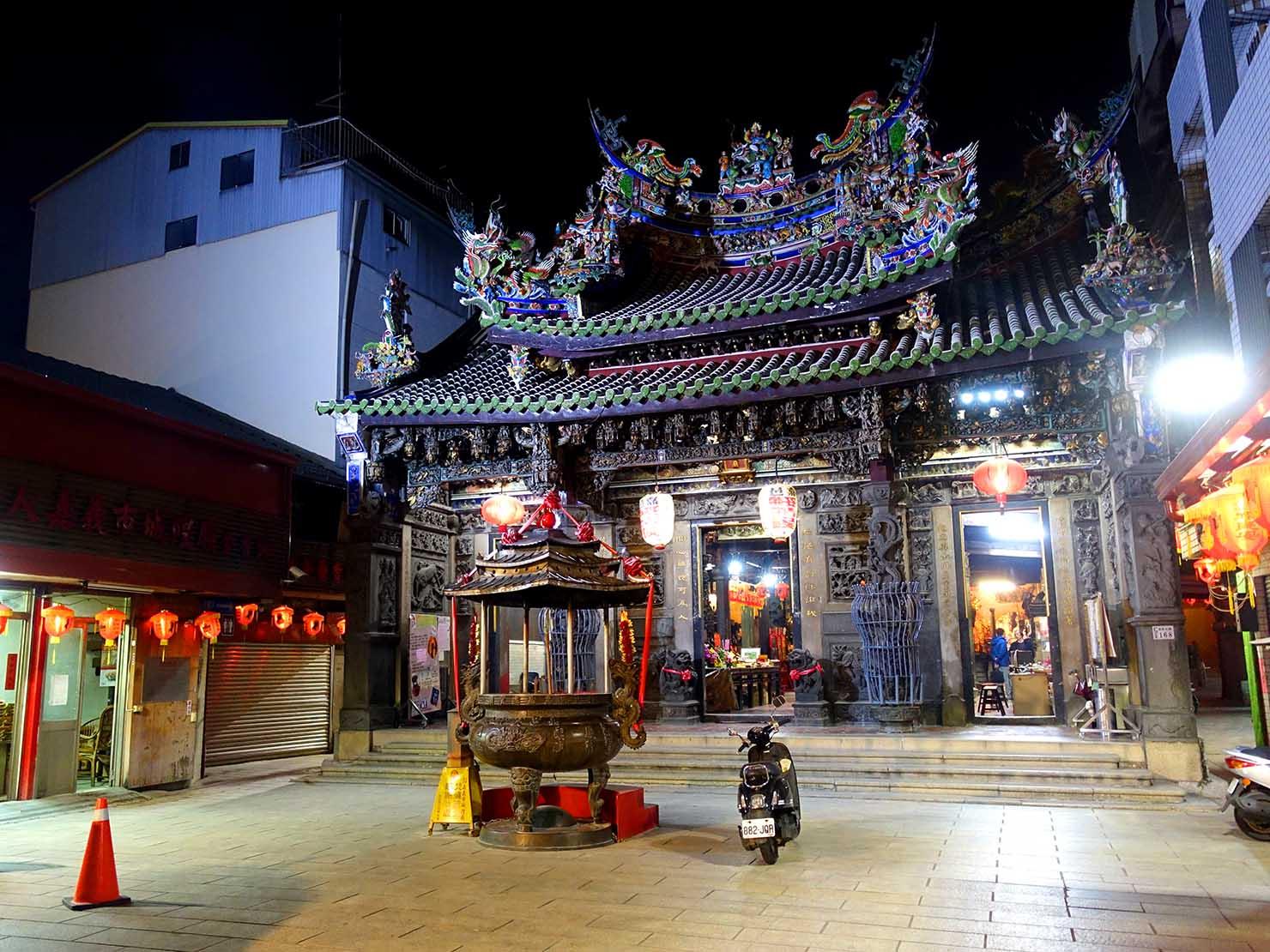 嘉義のおすすめ観光スポット「嘉義城隍廟」の外観
