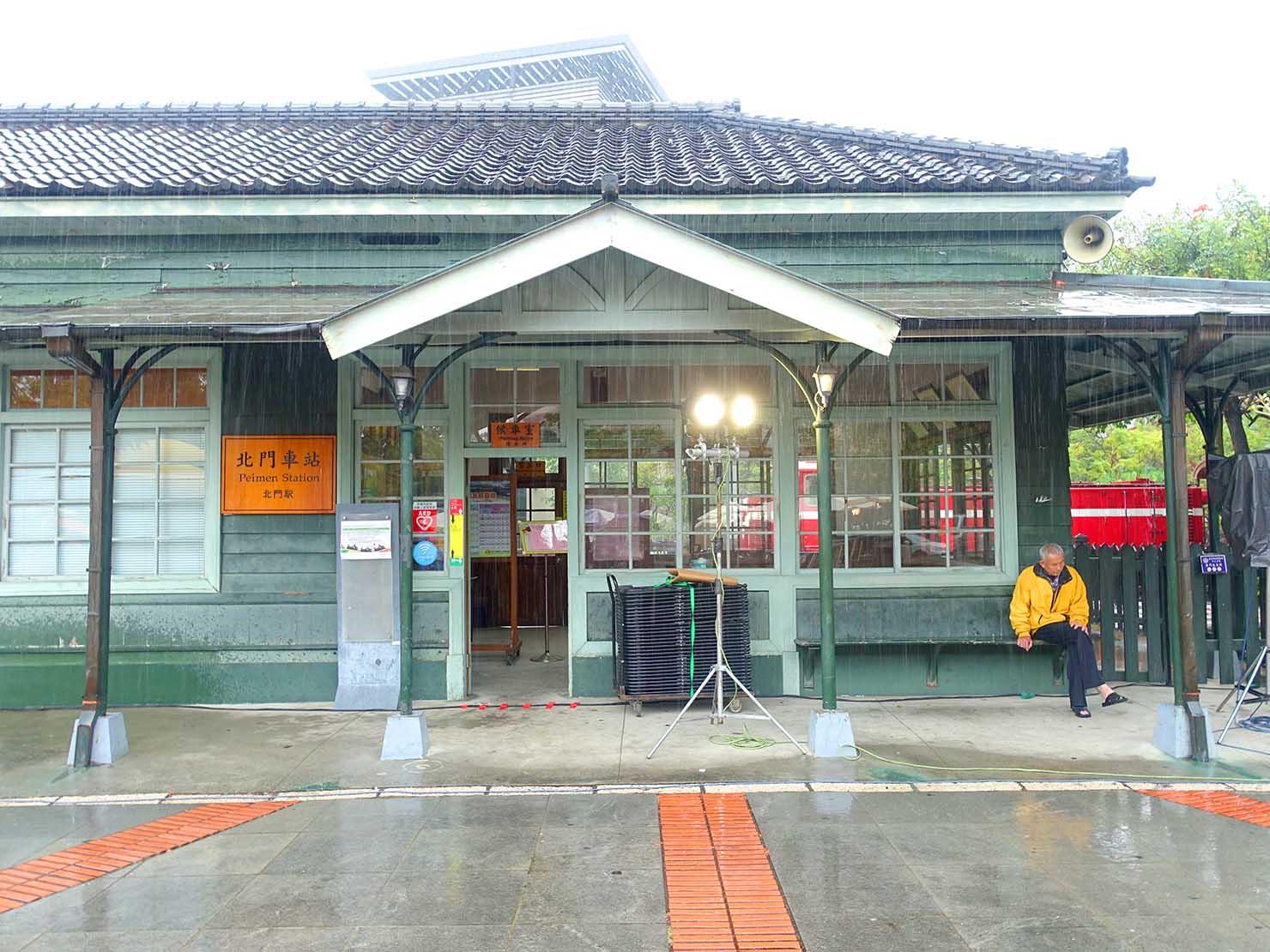嘉義のおすすめ観光スポット「北門驛」の外観