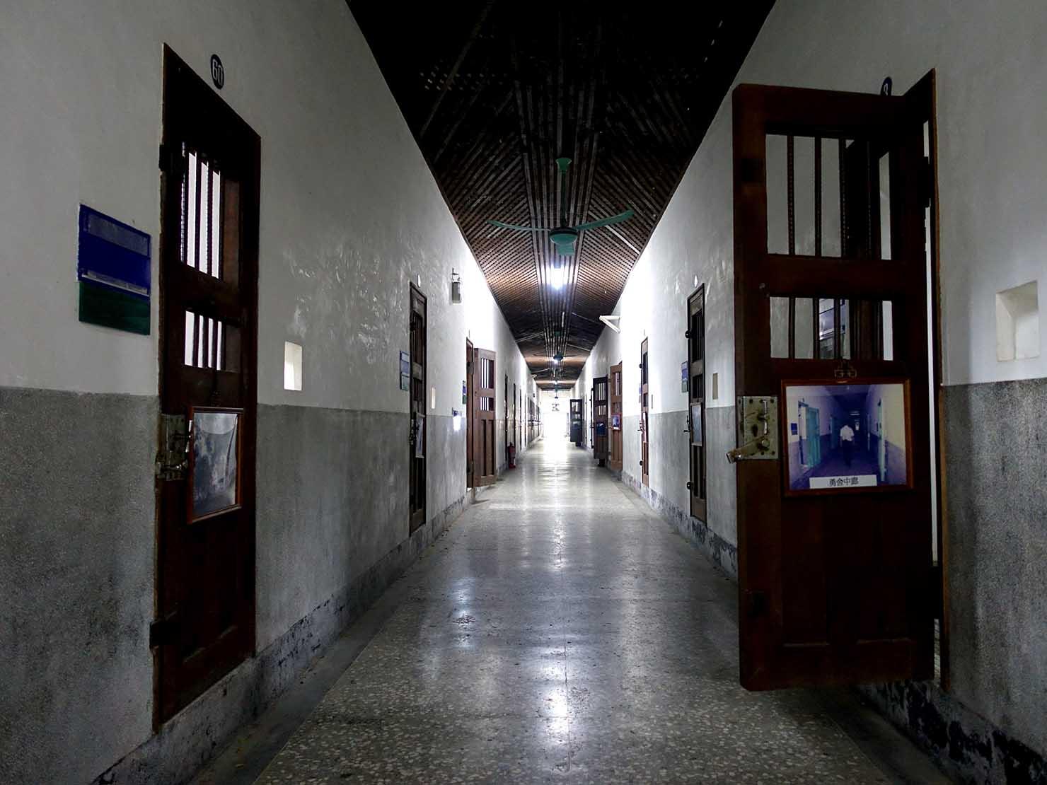 嘉義のおすすめ観光スポット「嘉義舊監獄」の独房棟