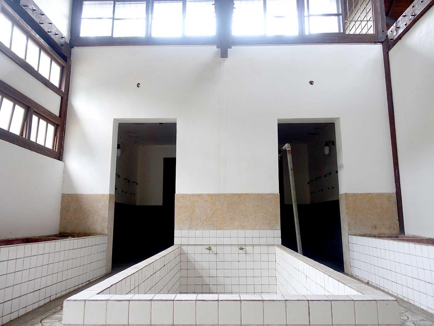 嘉義のおすすめ観光スポット「嘉義舊監獄」の浴室