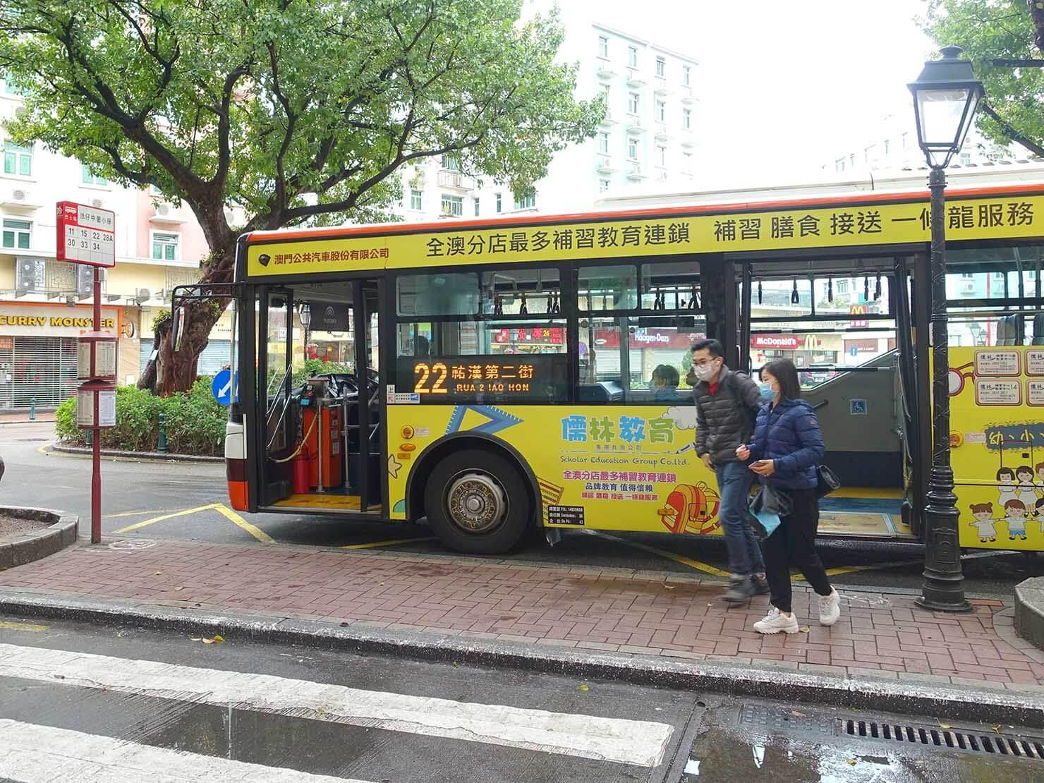 マカオのバス