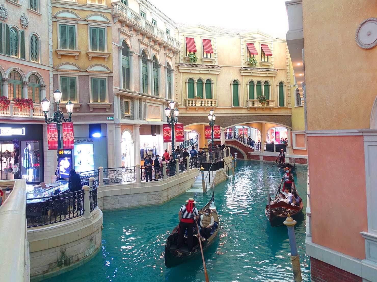 マカオのリゾート施設「威尼斯人(VENETIAN)」