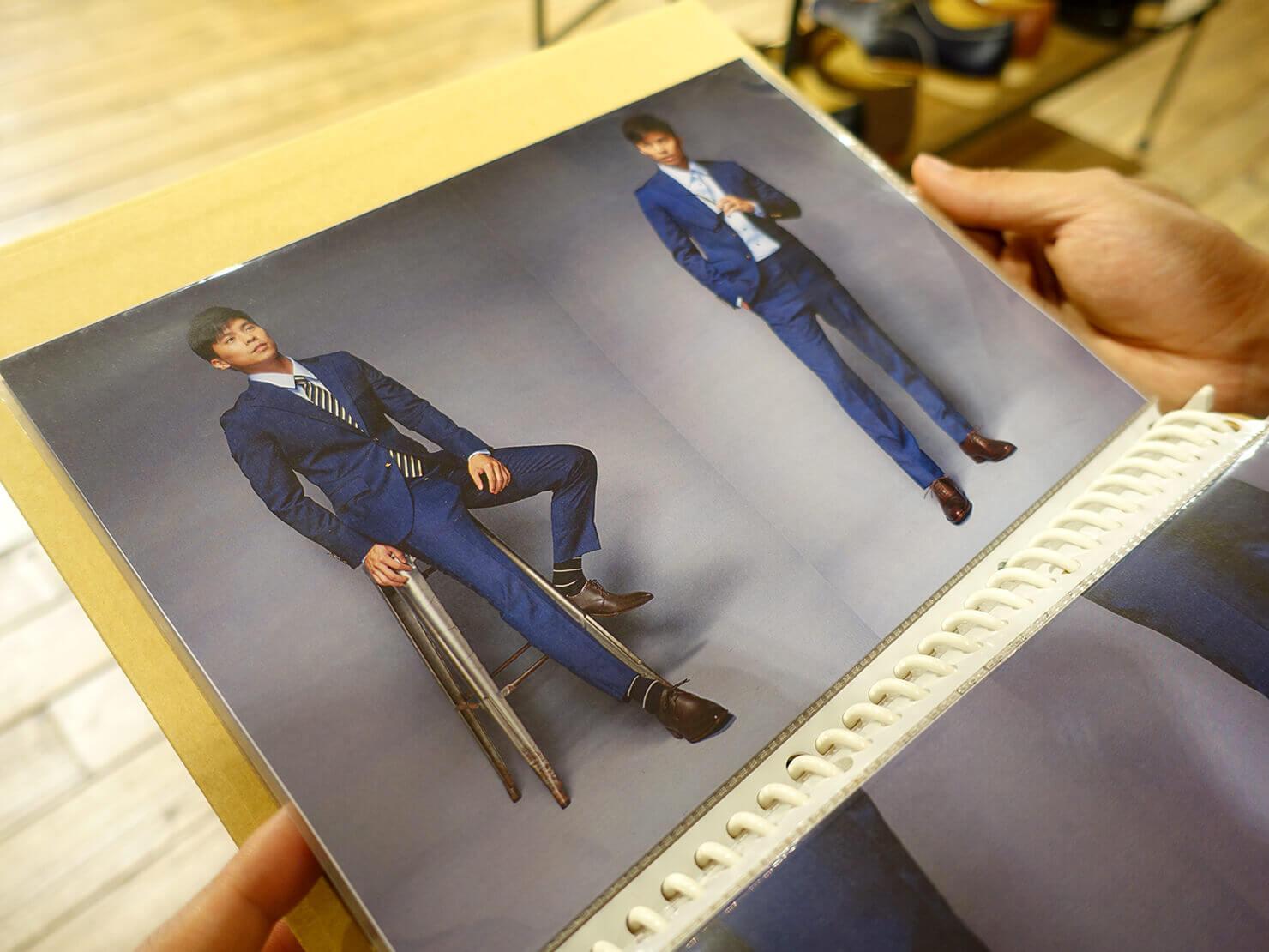 台湾のおすすめ革靴ブランド「林果良品 ORINGO」台北東門店のスタイリングブック