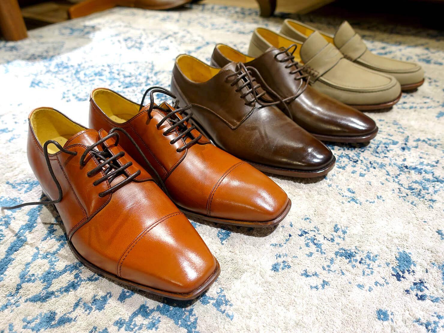 台湾のおすすめ革靴ブランド「林果良品 ORINGO」台北東門店で試着した革靴たち