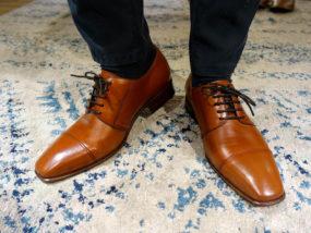 台湾のおすすめ革靴ブランド「林果良品 ORINGO」の橫飾德比鞋(ダービー・シューズ)