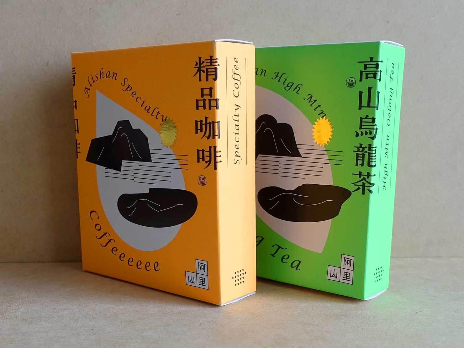台北・永康街のおすすめおみやげショップ「來好 LAIHAO」で買った精品咖啡&高山烏龍茶
