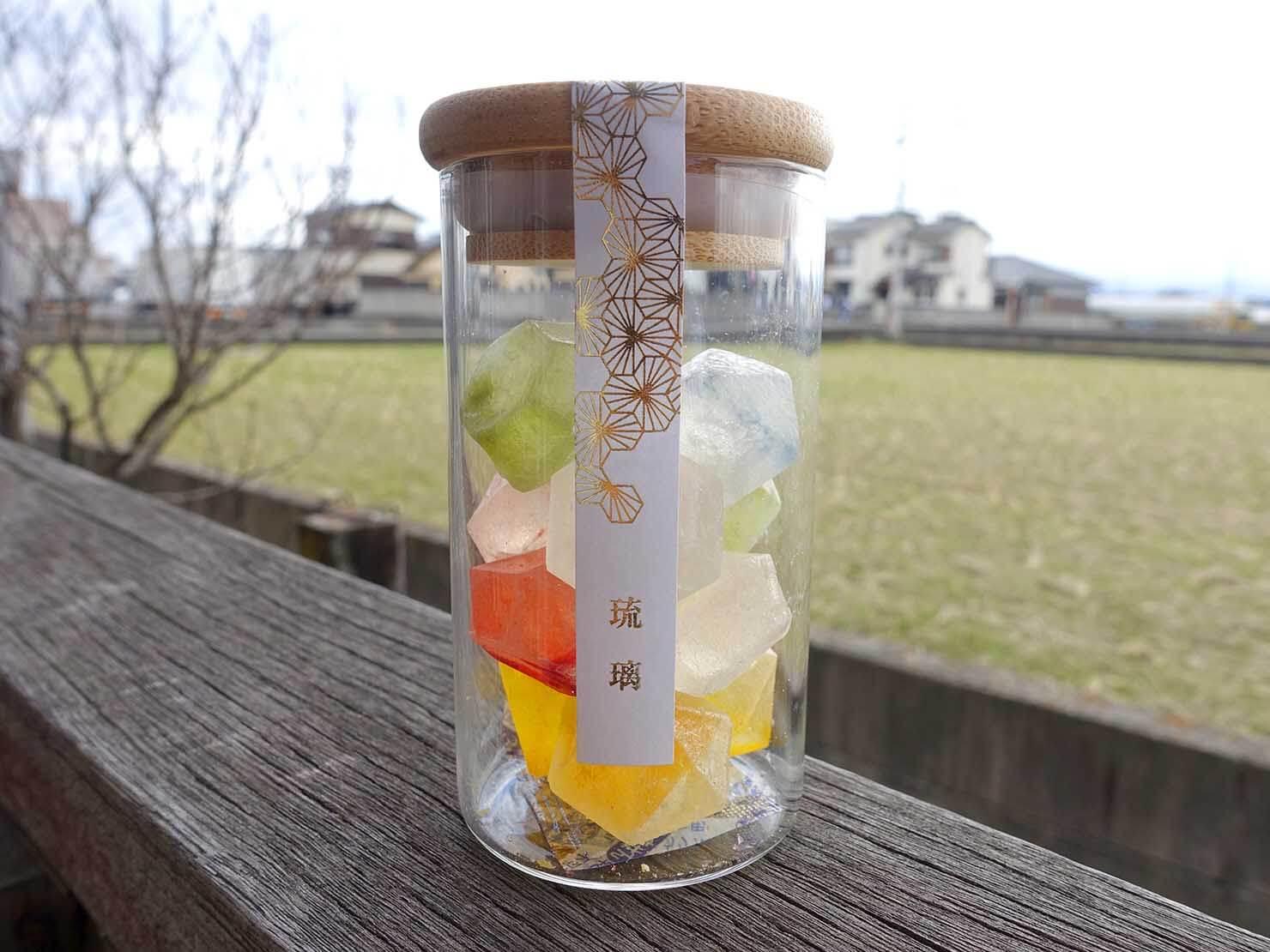 台北・永康街のおすすめおみやげショップ「來好 LAIHAO」で買った金錦町の琥珀糖パッケージ
