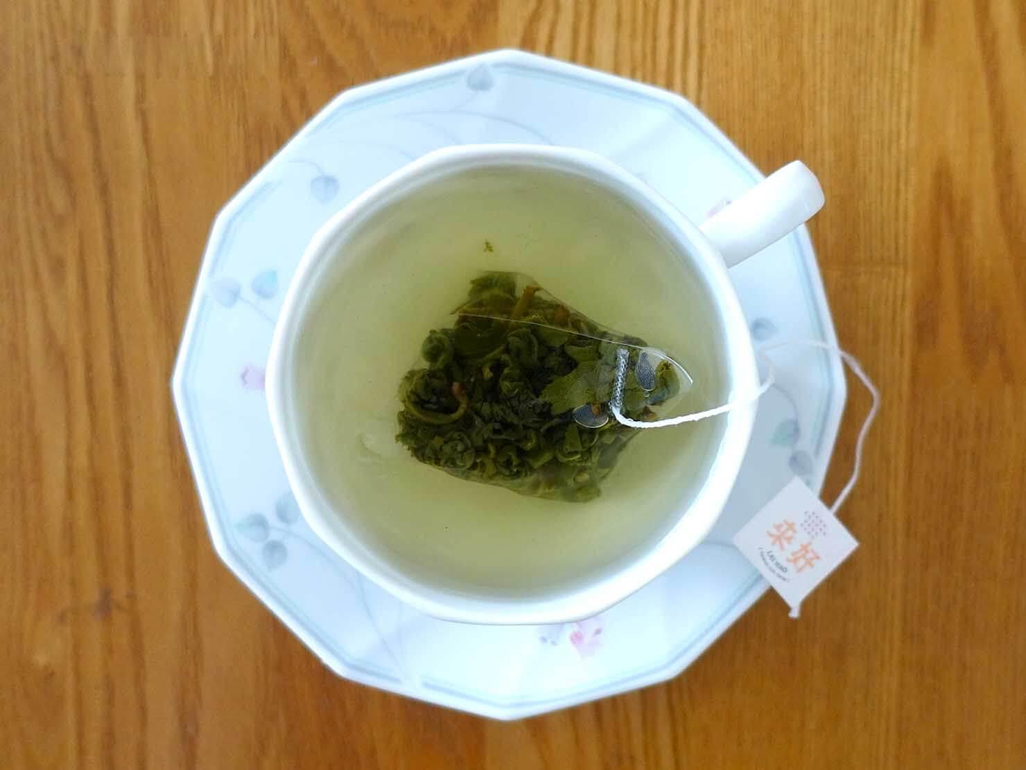 台北・永康街のおすすめおみやげショップ「來好 LAIHAO」で買った高山烏龍茶