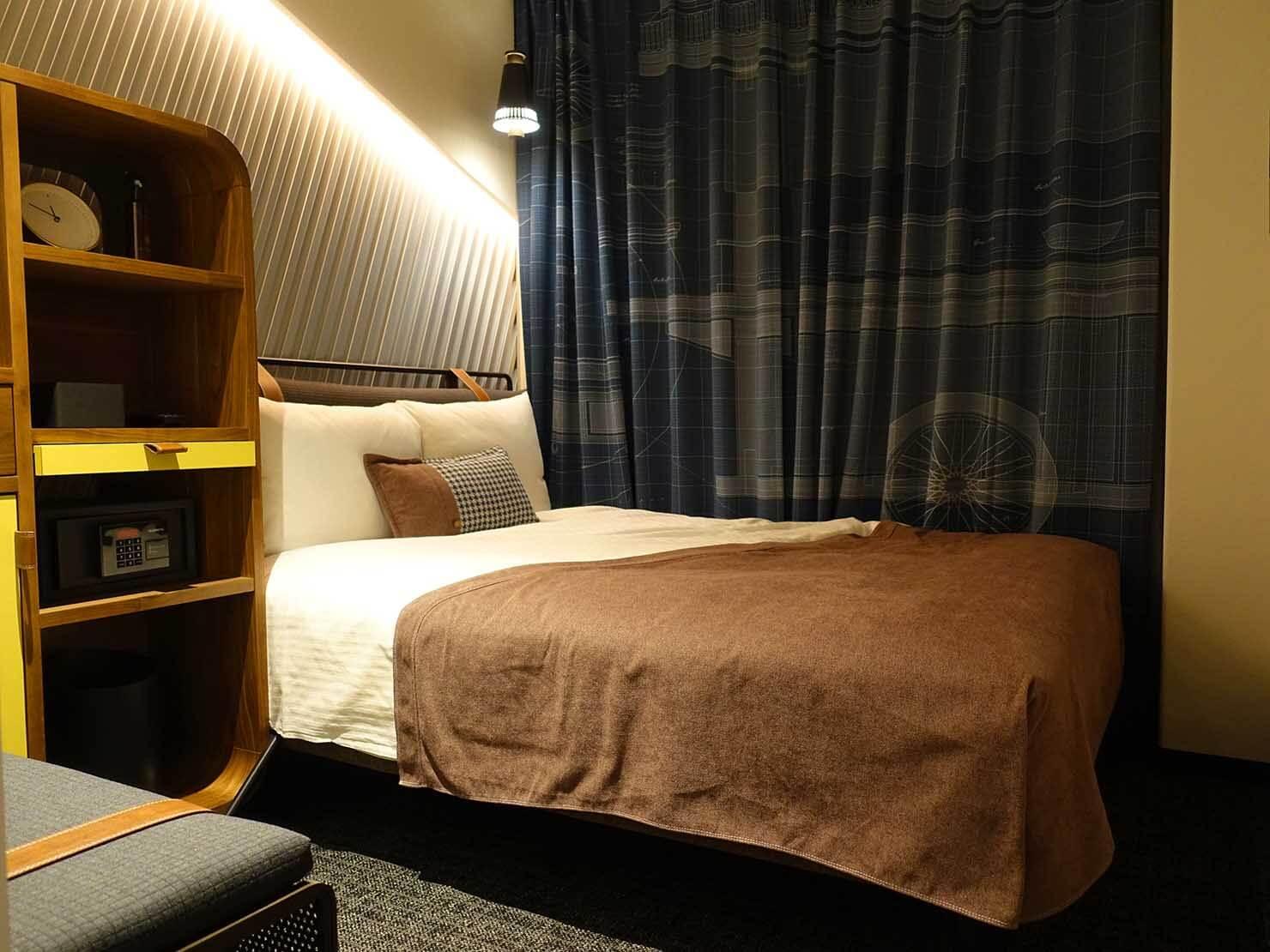 福岡・中洲川端にあるおしゃれなおすすめホテル「THE LIVELY」スタンダードダブル
