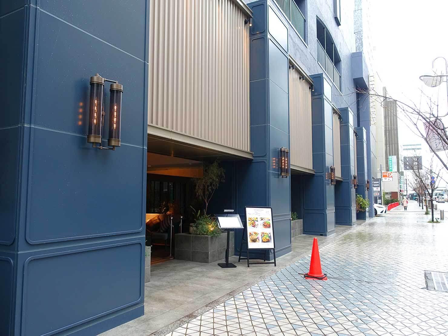 福岡・中洲川端にあるおしゃれなおすすめホテル「THE LIVELY」前