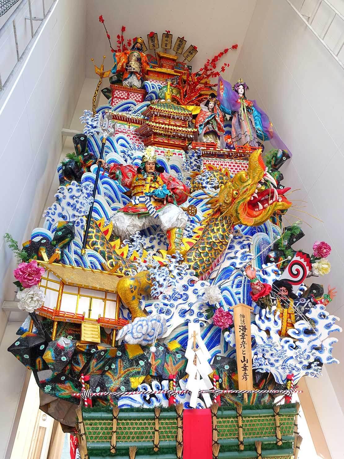 福岡・櫛田神社の飾り山笠