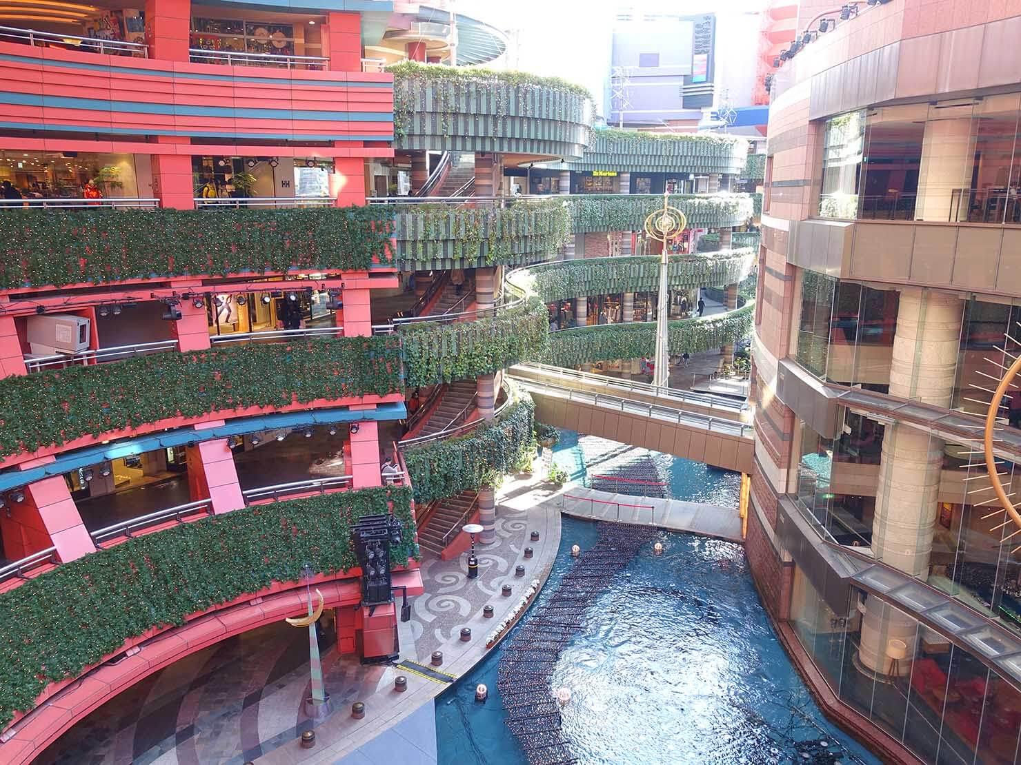 福岡・キャナルシティ博多の運河