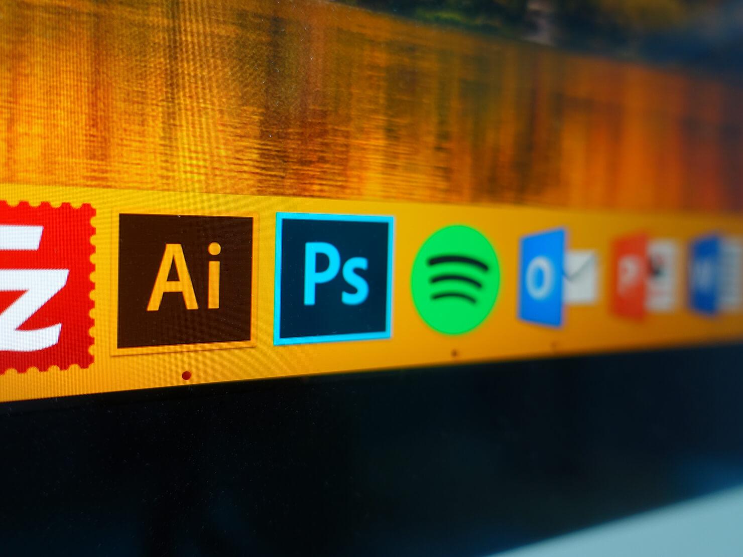 仕事で使うデザインソフト