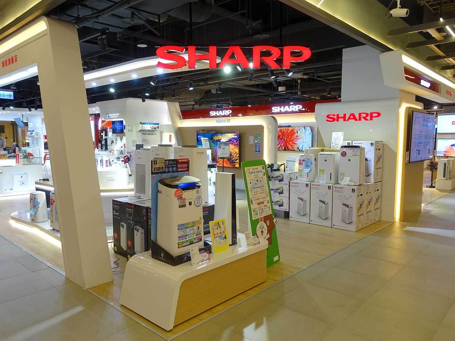 台北で生活家電を揃えたい時のおすすめ店「三創生活 SYNTREND」4F家電フロア