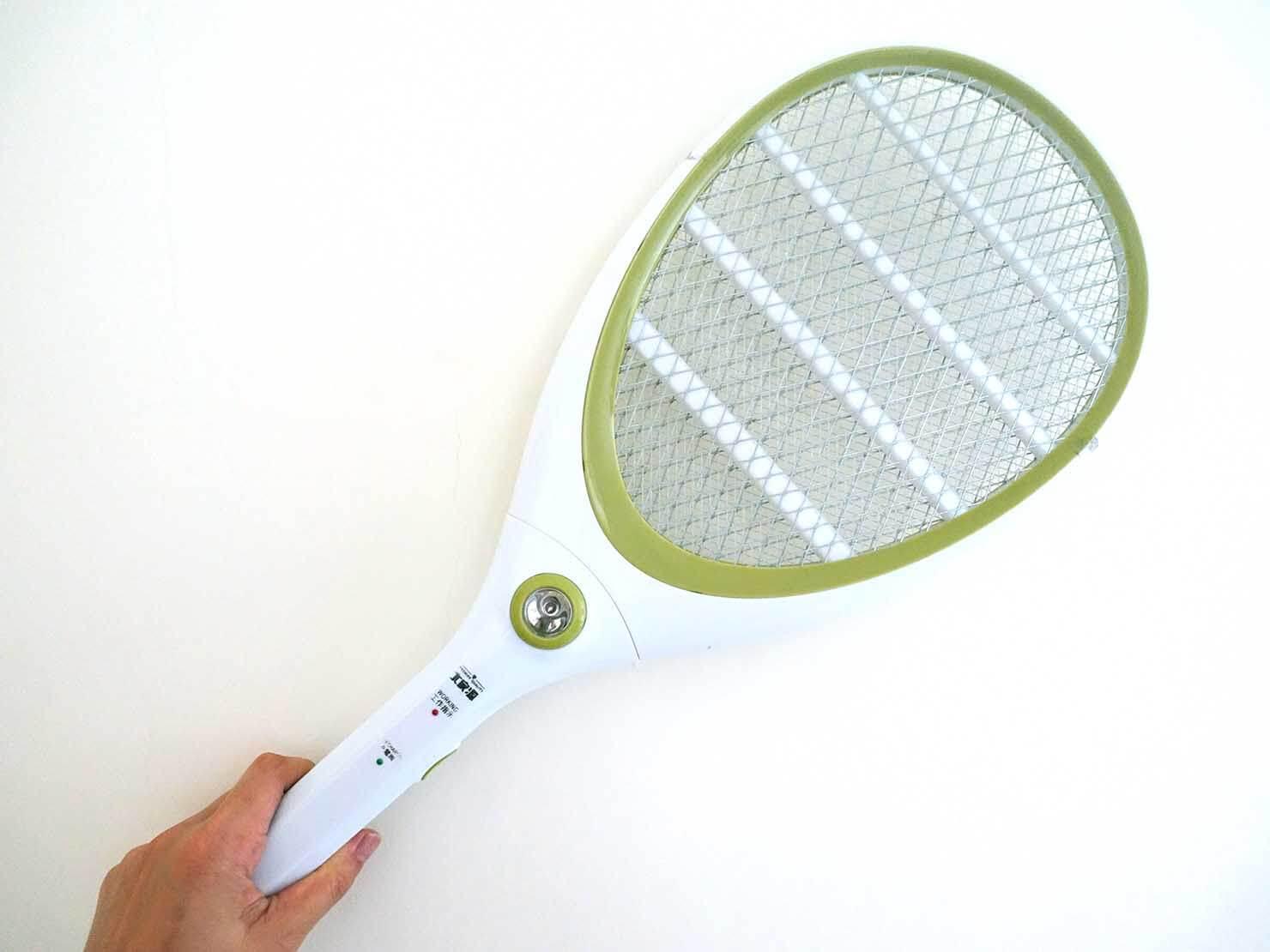 台北生活で愛用しているアイテム「電蚊拍」