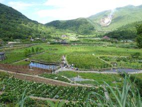 台北・陽明山のおすすめスポット「竹子湖」