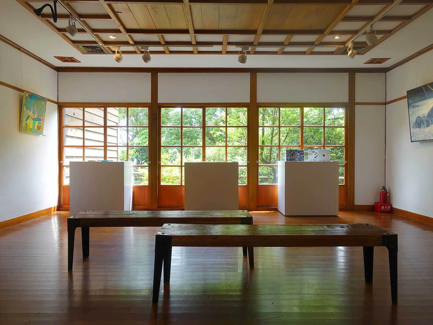 台北・陽明山のおすすめスポット「草山行館」の展示室