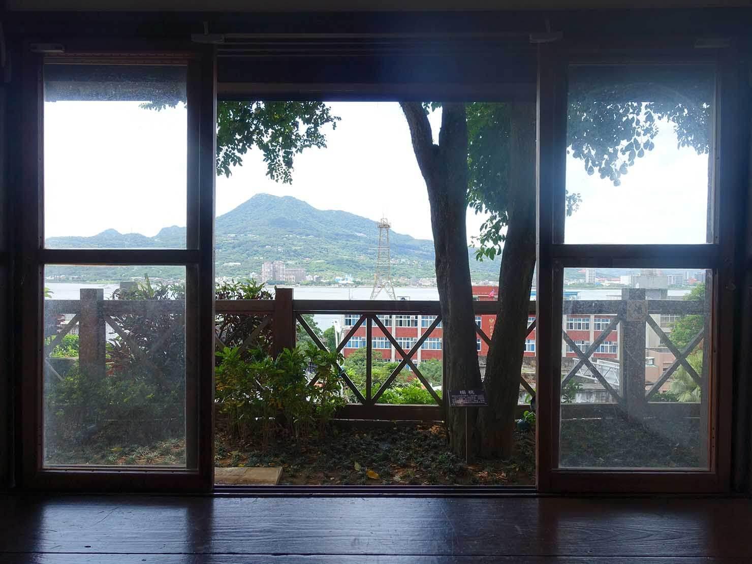 台北・淡水のおすすスポット「多田榮吉故居」から眺める淡水河