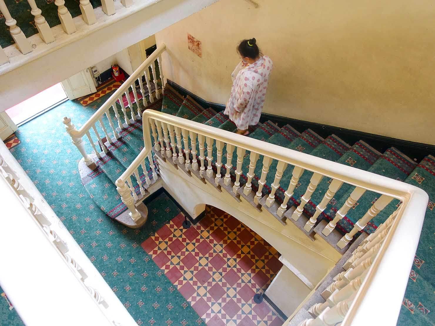 台北・淡水のおすすスポット「英國領事館」の階段