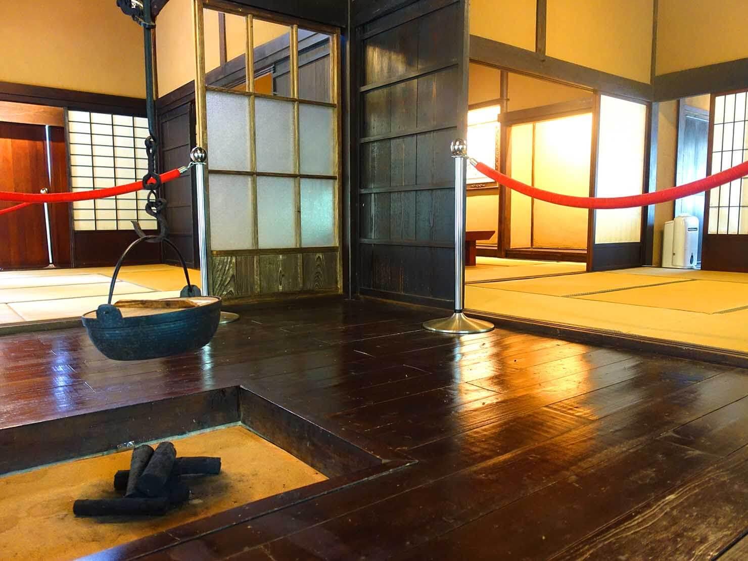 台北・淡水のおすすスポット「一滴水紀念館」の屋内