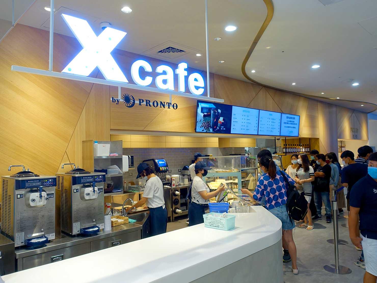 台北に誕生した都市型水族館「Xpark」のカフェ