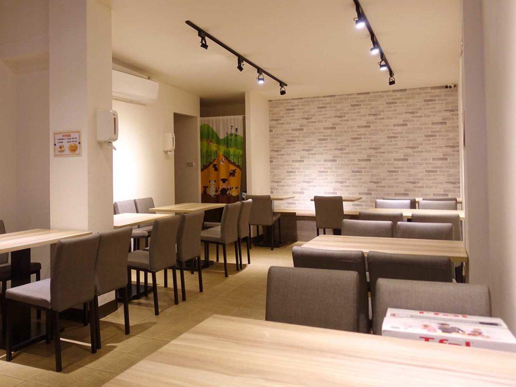台北101/世貿駅(吳興商圈)のおすすめグルメ店「壹合冰品湯圓甜品」の店内