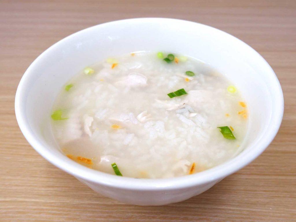 台北101/世貿駅(吳興商圈)のおすすめグルメ店「南台虱目魚之家」の魚肉粥