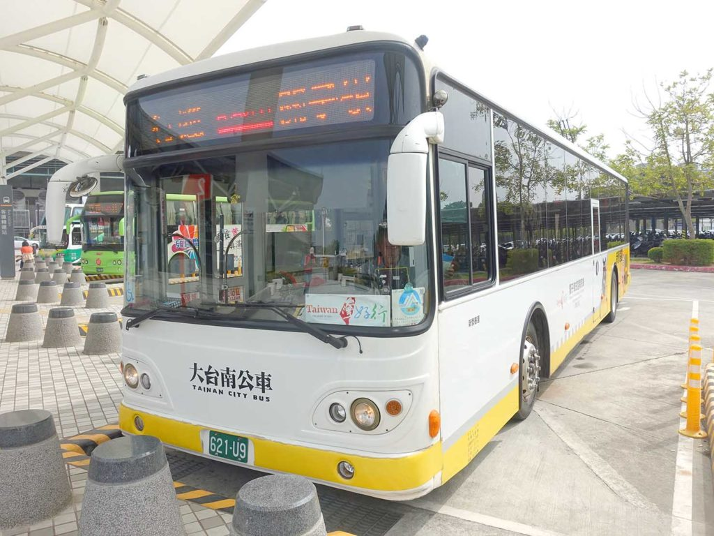高鐵(台湾新幹線)嘉義駅に発着するバス・台灣好行-關子嶺故宮南院線