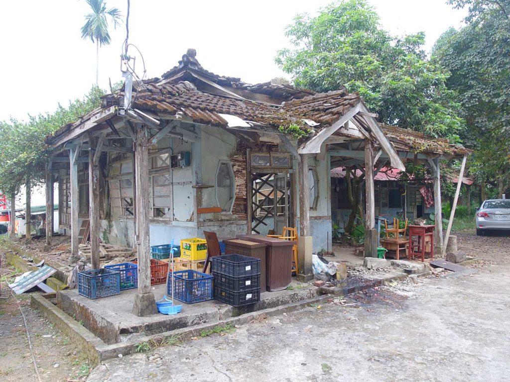 台南・關子嶺温泉に建つ古びた日本式家屋