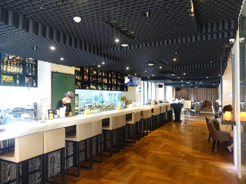 高雄・市議會駅エリアのおすすめホテル「WO Hotel」1FにあるWO BARの店内
