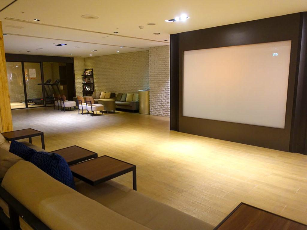 高雄・市議會駅エリアのおすすめホテル「WO Hotel」B1Fのコミュニティスペース