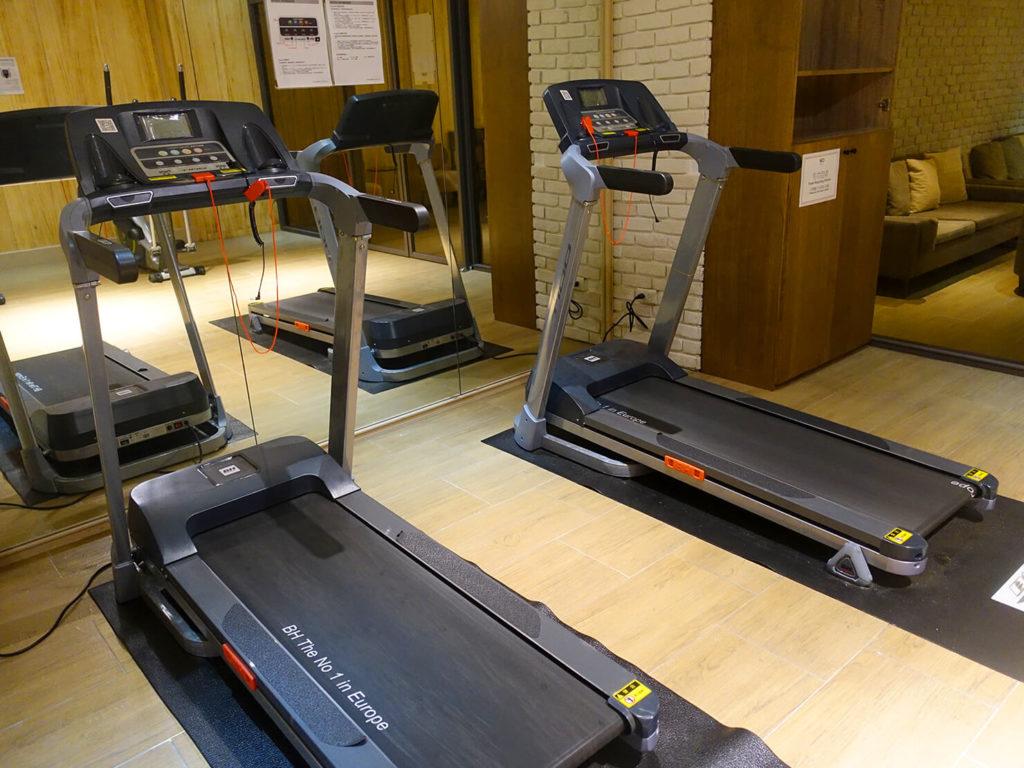 高雄・市議會駅エリアのおすすめホテル「WO Hotel」B1Fのジム