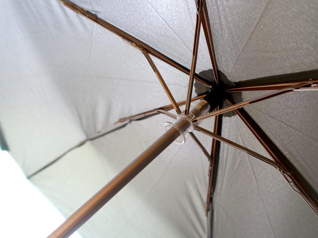 重いカバンを軽量化するために新調した持ち物「折り畳み傘」の6本骨