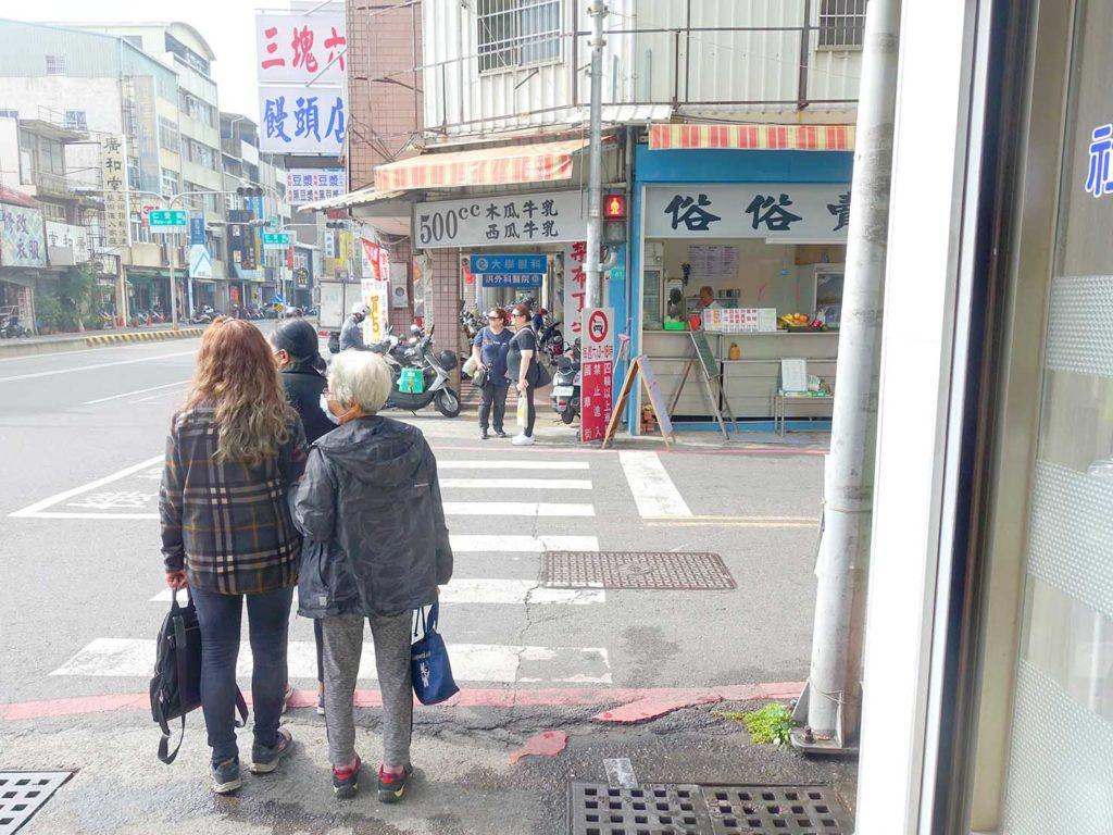 台南・民生國華路口