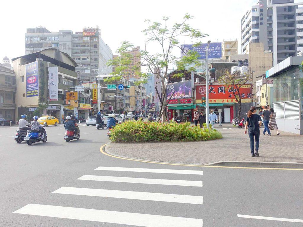台南・民生海安路口