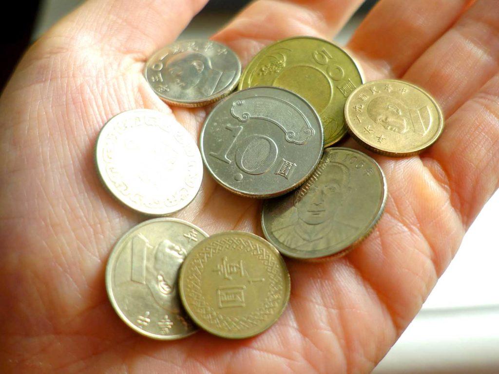 台湾の硬貨
