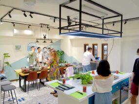 台湾料理教室&プライベートレストラン「好客台北 Be My Guest Taipei」の店内
