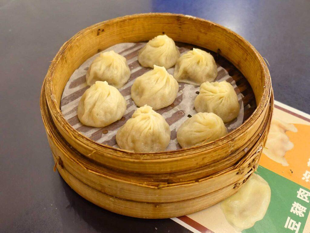 台北・中正紀念堂のおすすめ小籠包店「杭州小籠包」の小籠湯包