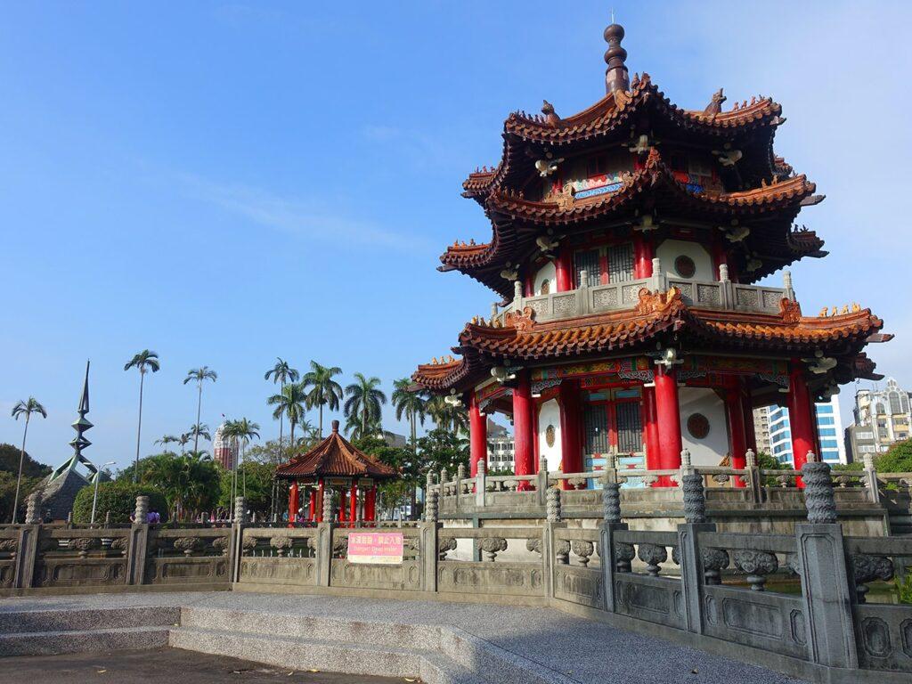 台北の有名スポット・二二八和平公園