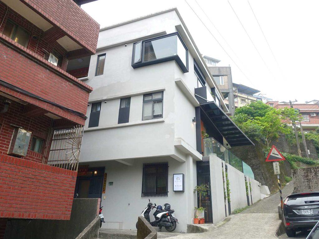 台北・九份のおすすめゲストハウス「九份山午」の外観