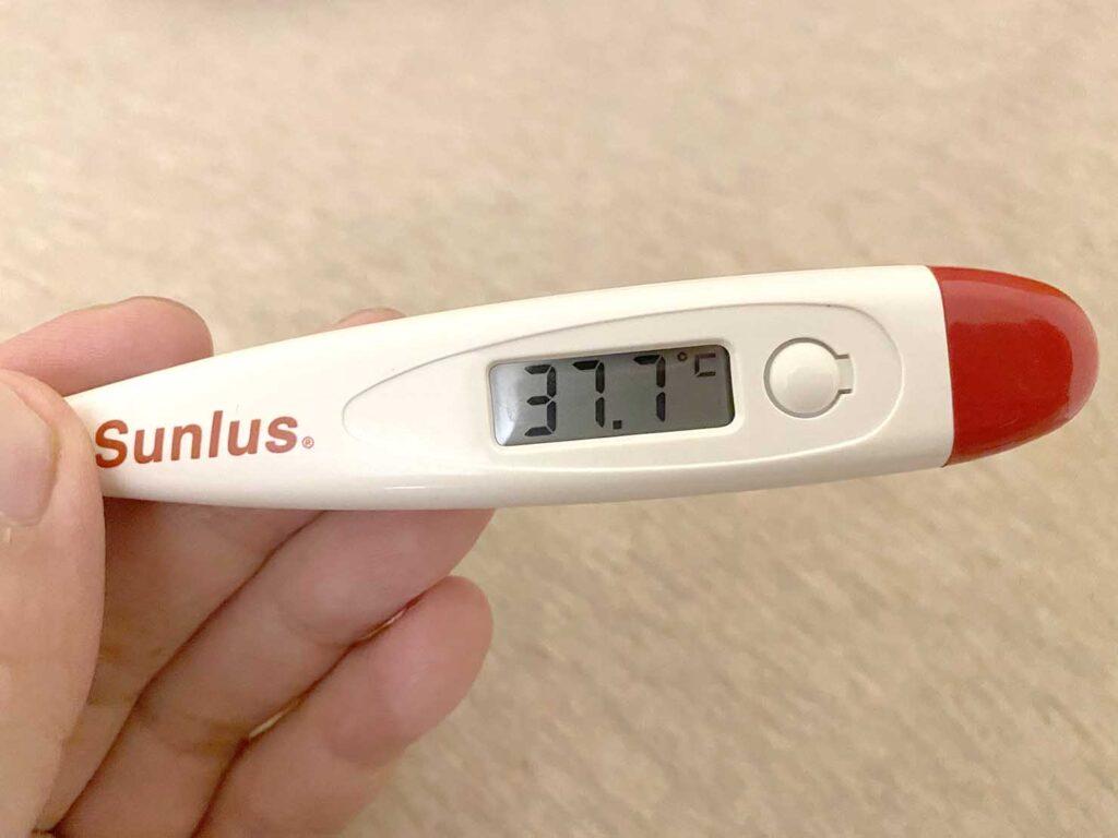 コロナワクチン接種後の発熱