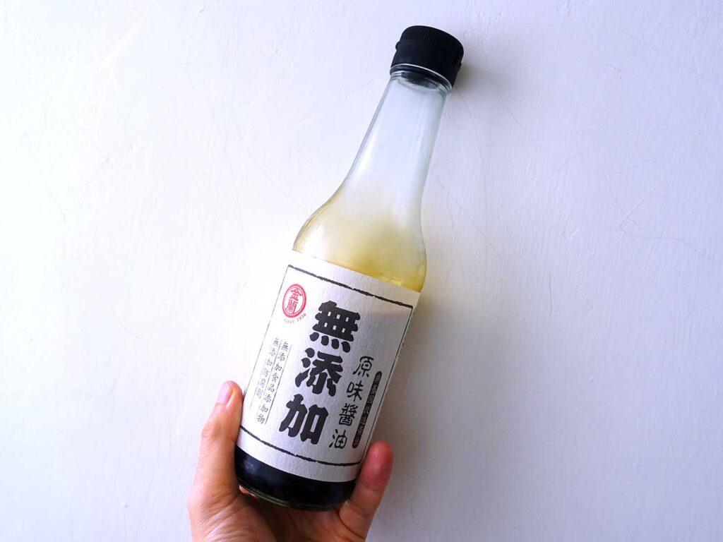 台湾での自炊に活躍中の調味料「金蘭 無添加原味醬油」