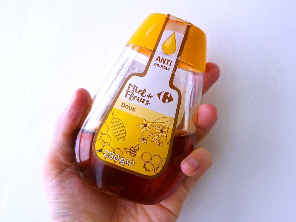 台湾での自炊に活躍中の調味料「家樂福 綜合蜂蜜」